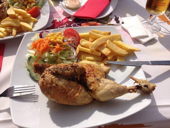 Pizzería Restaurante Palette: Demi poulet