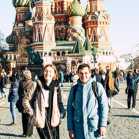 Katya & Nikita - Local Moscow Guides