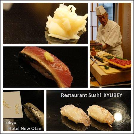 Japão: Voyage au Japon Resto 3* de sushi Tokyo