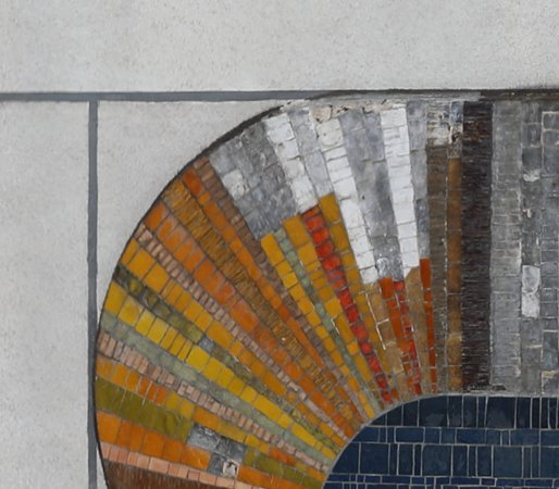 Mosaiques de L'Espace des Arts