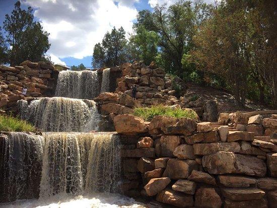 Wichita Falls - Picture of The Falls in Lucy Park, Wichita ...