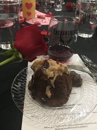 Portales, NM: just one of the many deserts and Wine Pairings