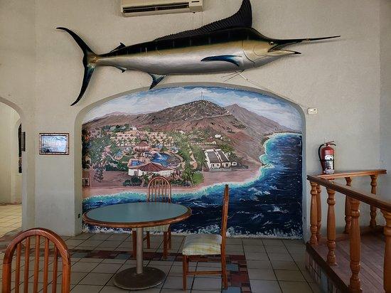 Buenavista, المكسيك: Inside the dining room / restaurant.
