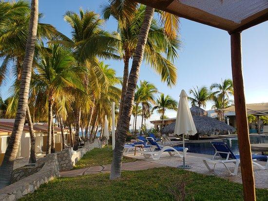 Buenavista, المكسيك: Deck by the pool