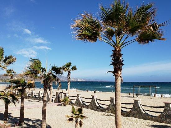 Buenavista, المكسيك: Beach area in front of resort
