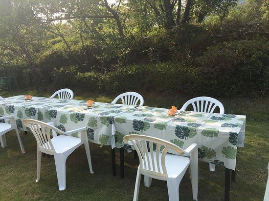 NIKKOEN BBQ &PARTY GARDEN IN HYOGO: テーブルは各グループ様毎にご用意