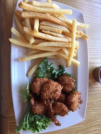 Horizons Restaurant & Lounge: Coconut shrimp special