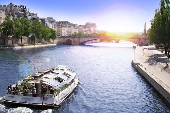 Seine River Hop On Hop Off Sightseeing Cruise In Paris Provided By Batobus