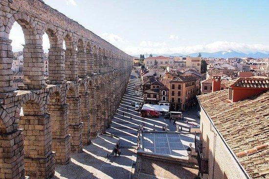 Toledo og Segovia fra Madrid med...