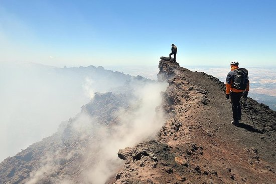 Excursion on Etna with the...