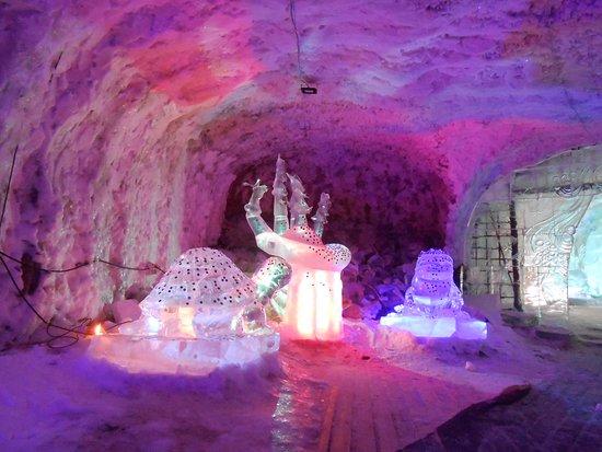Kingdom of Permafrost, Yakutsk. Such very beautiful Ice Sculptures.