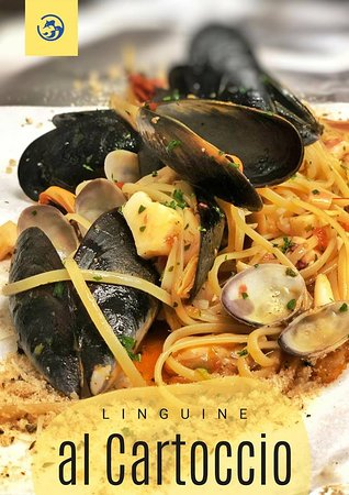 Linguine al Cartoccio