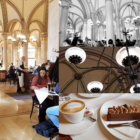 A cathedral of coffee consumption