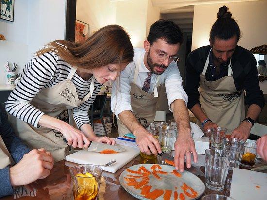Enrique's Cooking Class