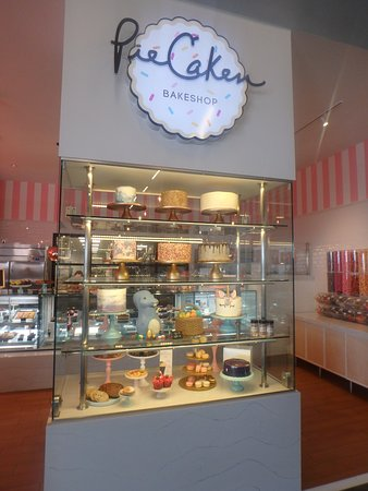 entrance to PieCaken and display case