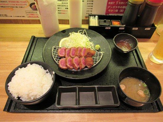 Kobe Gyukatsutei Sannomiya Honten: 切り口に悩殺されます(笑)