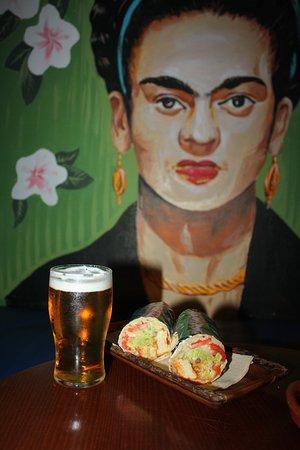 7 Machos -  Can Pastilla: Burrito con Caña!