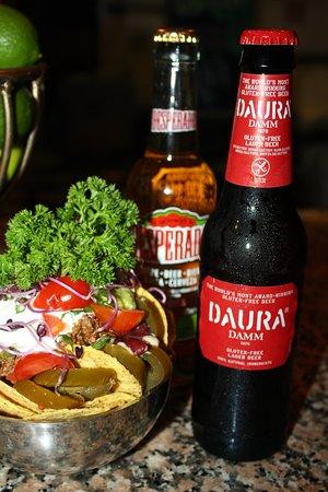 7 Machos -  Can Pastilla: Cerveza sin Gluten i Nachos sin Gluten!
