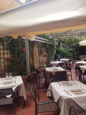 giardino ristorante ribot