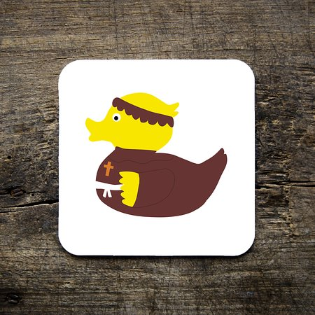 Dukki Ltd: Friar Duck!  We have our very own range of DUKKI characters, including Robin hood and his Merry men. Check out the full range in our shop and online at www.dukkigifts.co.uk