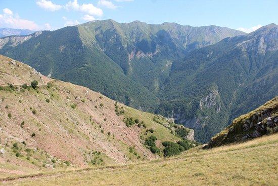Lukomir, Bosnië en Herzegovina: la valle