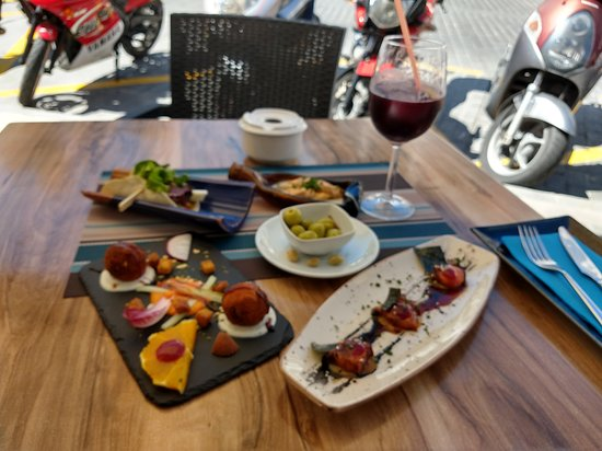 Great innovative tapas at a good price.