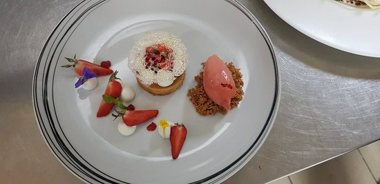 Nouvelle carte de desserts : le chocolat passion et la fraise