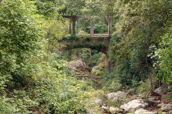 Esporles, España: View on the bridge