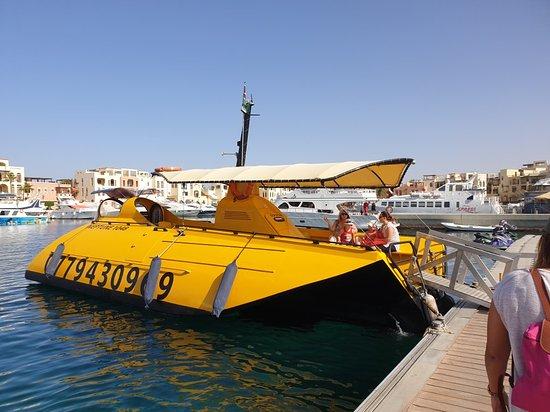 نبتون قارب الغواصة