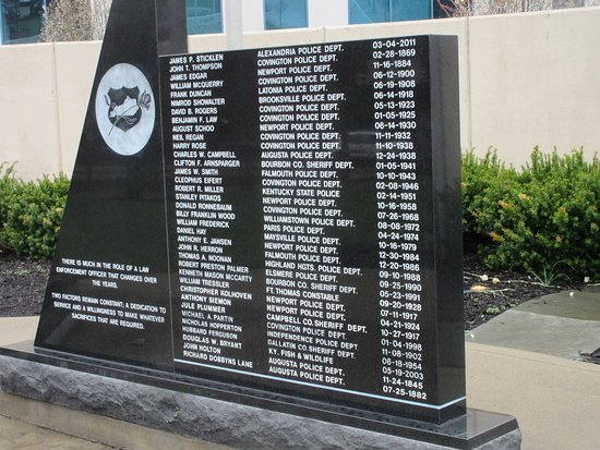 Northern Kentucky Police Memorial
