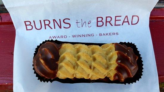 Burns the Bread Viennese Finger