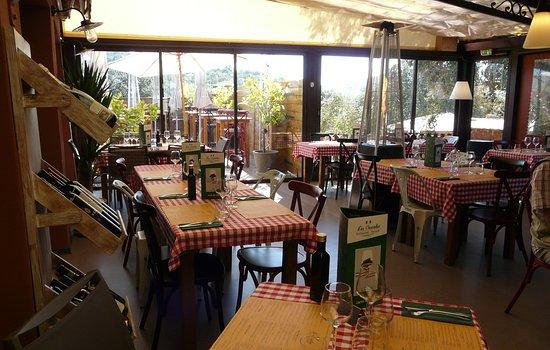 """Restaurant Pizzeria Les Cascades: Restaurant """"les cascades"""" la Roque sur Cèze"""