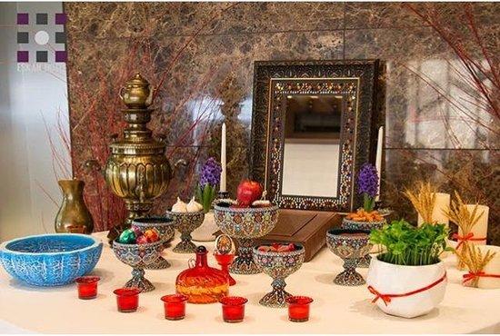 Eskan Hotel: Nowroz in hotel