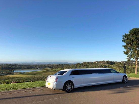 Newcastle, Australia: Chrysler Limousine at Audrey Wilkinson Hunter Valley