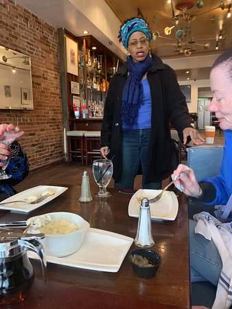 Harlem Historical Food Tour: Jackie, our guide