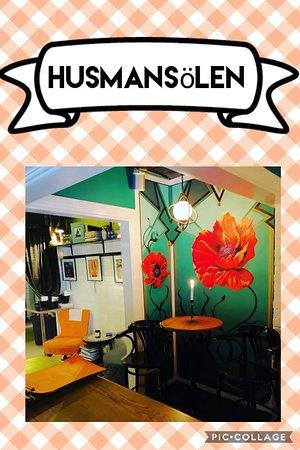 Peas & Honey Public House: Husmansölen- svensk husman med rekommenderad öl.