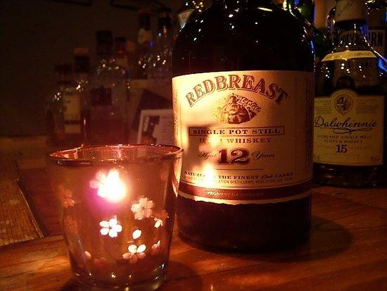 Whisky Pub Distill: レッドブレスト12年。アイリッシュのシングルポットスチルウイスキーです。