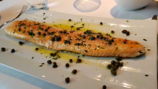One of my favorites, Arctic Char with capers - Picture of
