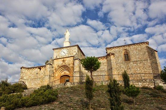 Banos de Valdearados, Ισπανία: Ermita del Santo Cristo de finales del siglo XVI.