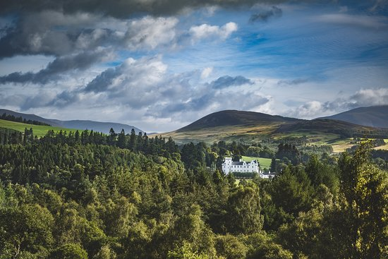 Blair Castle and Hercules Gardens