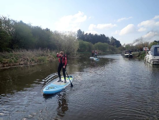 Excellent Paddleboarding Lesson