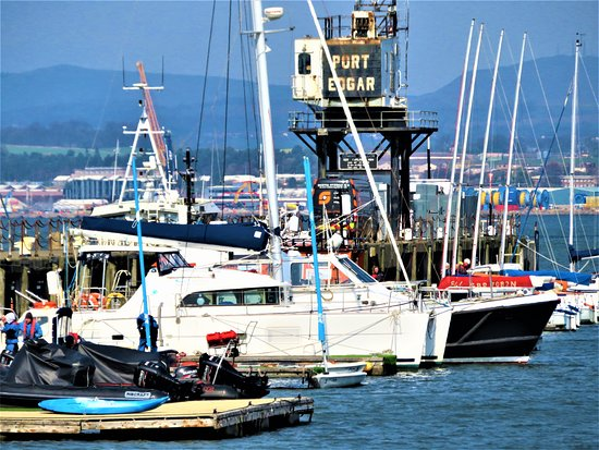 Port Edgar Marina: boats