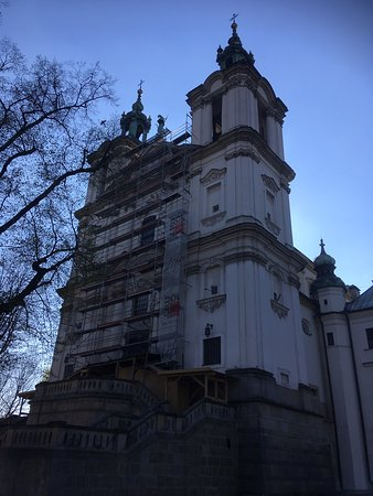 Church on the Rock (Kosciol na Skalce) – fotografia
