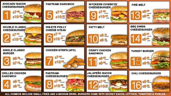 Inyokern, CA: Burgers