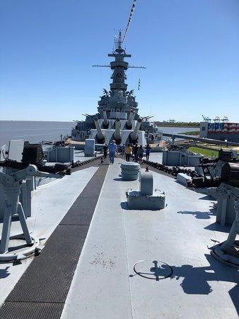 Battleship USS ALABAMA: Intérieur de cette machine de guerre.
