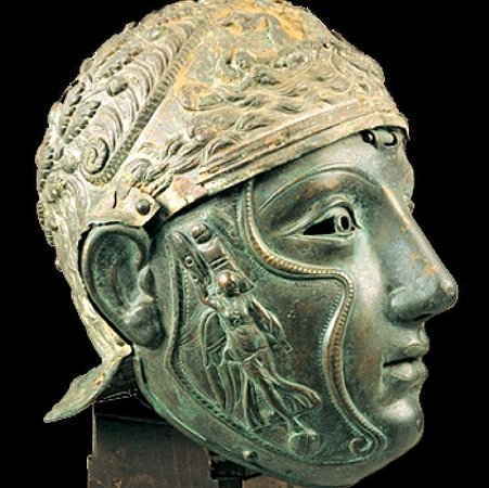 East Macedonia and Thrace, กรีซ: Thracian helmet  silver. Greece 🇬🇷. Beauty of ancient Greece 🇬🇷 Grecia 🇬🇷 Griechenland 🇬🇷 Grece 🇬🇷