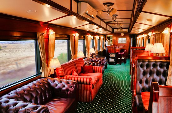 The Pride of Africa Luxury train travel at its best