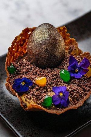 Easter Chocolate Dragon Egg