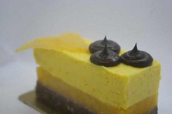 Orange & choco cake. Try it at center of Split at MakaMaka acai & poke bar!