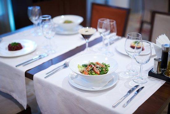 Ellipse Restaurant special salads with Quinoua